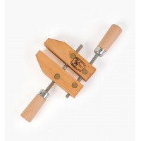 Wooden Jaw Hand-Screw Clamps, 100mm