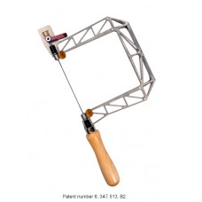 5' Titanium Birdcage Hand Saw with Cam Lever and Swivel Blade Clamp