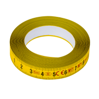 Adhesive steel bench tape