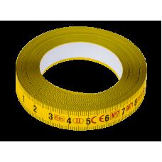 Adhesive steel bench tape 6m