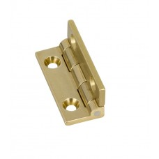 JB-102 brass square knuckled stopphinge