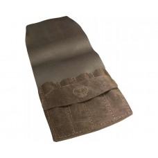 Premium Brown Leather Carvers Knife Wallet