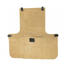 """24"""" Suede Leather Apron With Pocket"""