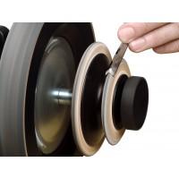 LA-120 Profiled Leather Honing Wheels