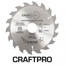 Craft saw blade 165mm x 18 teeth x 30mm
