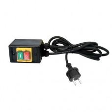 No volt release switch 230V Euro plug
