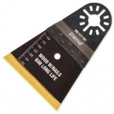 64mm wide oscillating blade wood w/nails BIM TiN coated